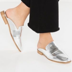 Free People 'At Ease' Leather Mule